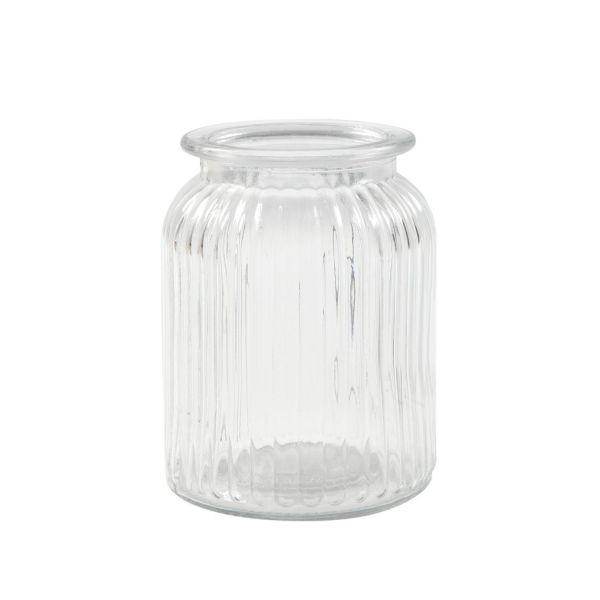 Glas Vintage, H 14,5 cm, D 11 cm