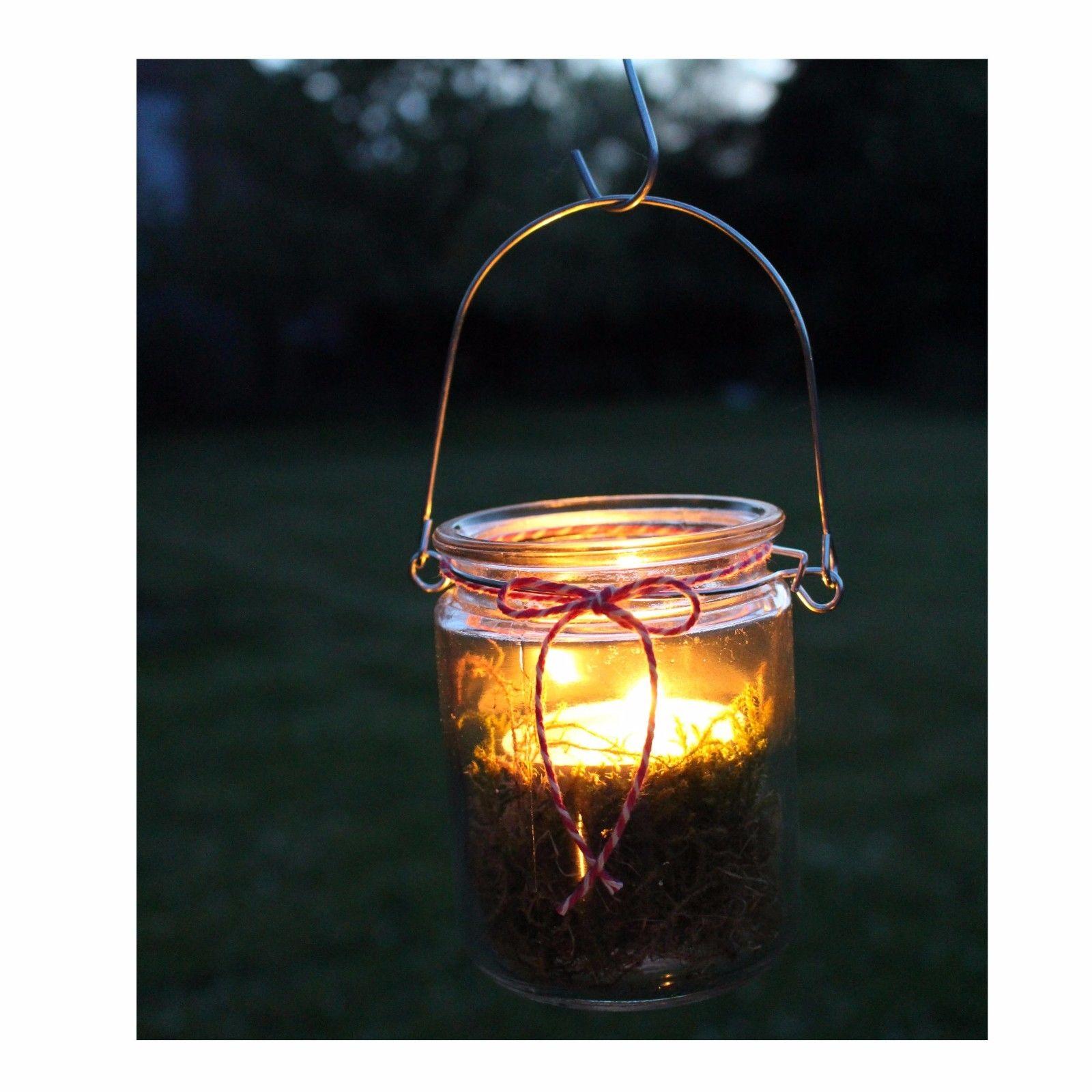 windlicht zum aufh ngen glaslaterne ca h 10 cm 12 st ck. Black Bedroom Furniture Sets. Home Design Ideas