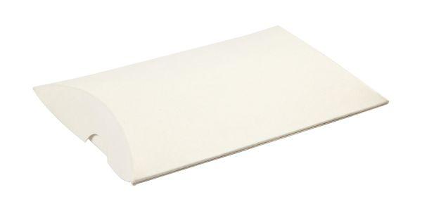 Faltschachteln Pillow Box, weiß 10 x 8 x 2 cm, 10 Stück