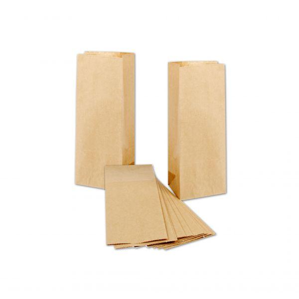 BODA Kraftpapier-Tüten 10 x 6,5 x 27 cm, 10 Stück