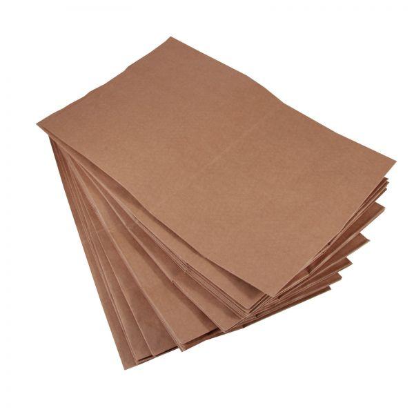 BODA Kraftpapier-Tüten groß ca. 22 x 9,5 x 28 cm, braun