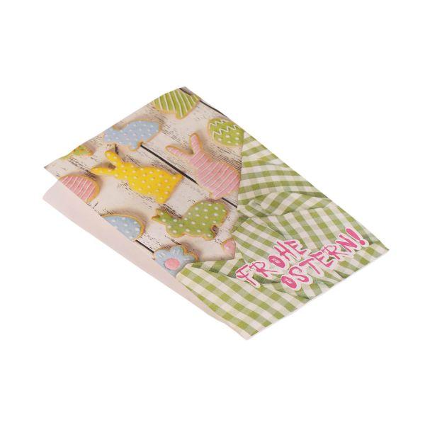 Ostertüte Faltenbeutel aus Papier ca. B 20 x L 30,5 cm
