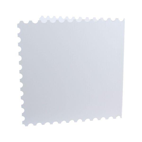"Doppelkarten 13,5 x 13,5 ""Briefmarke"" 5er Pack"