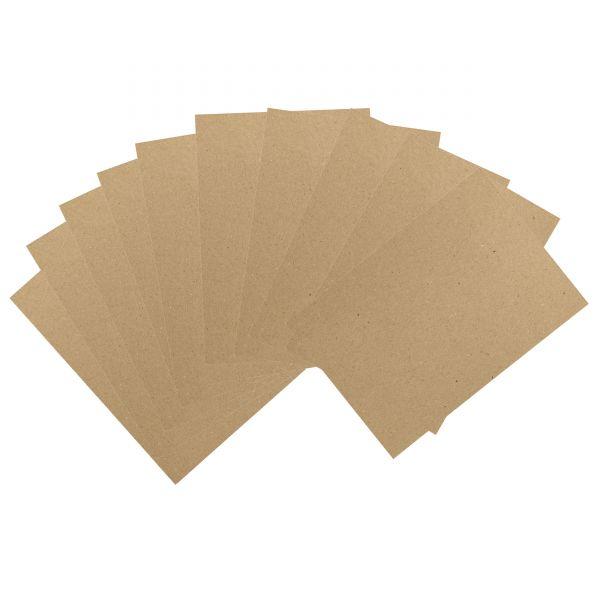 Kraftkarton DIN A4, 225g, 10 Blatt