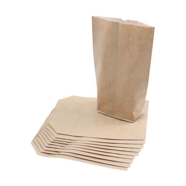 BODA Papierbeutel braun mit Pergamenteinlage