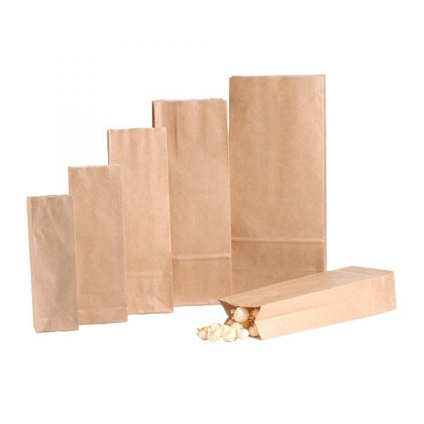 BODA Blockbodenbeutel mit Pergamenteinlage