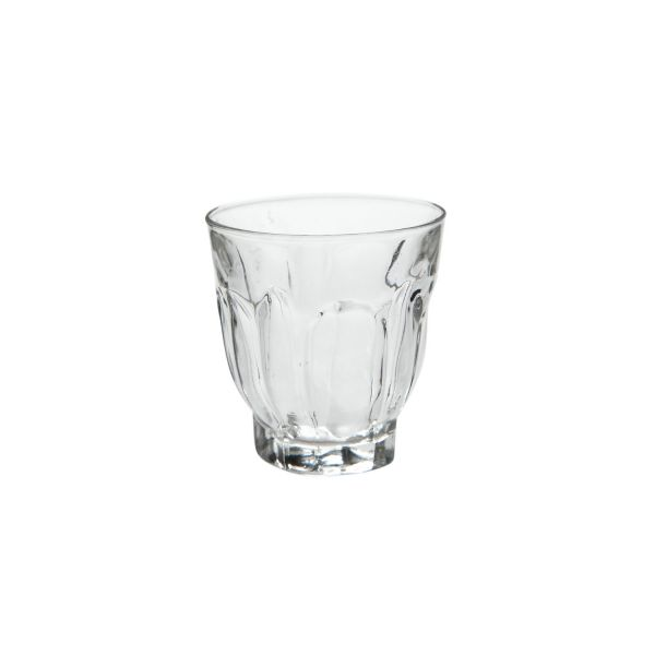 Glas mit Muster D 6,7 cm, H 7 cm, ca. 100 ml