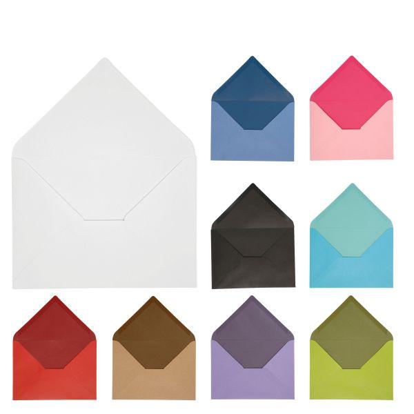 Briefumschläge C6, 10 Stück