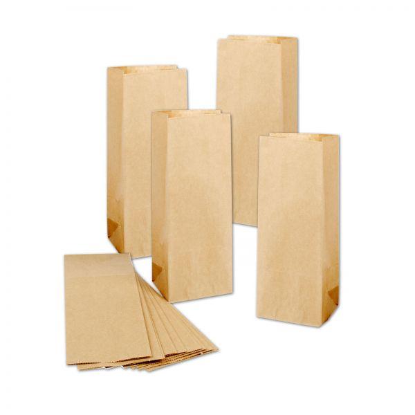 BODA Kraftpapier-Tüten 10 x 6,5 x 27 cm, 25 Stück