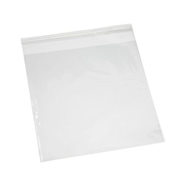 100 Flachbeutel mit Klebeverschluss, 25 cm breit