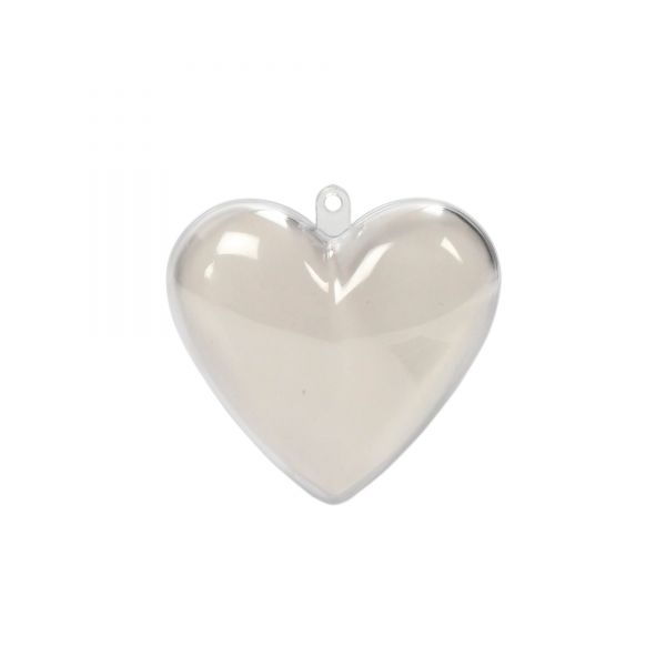 Herz zum Befüllen, D 6,5 cm, 10 Stück