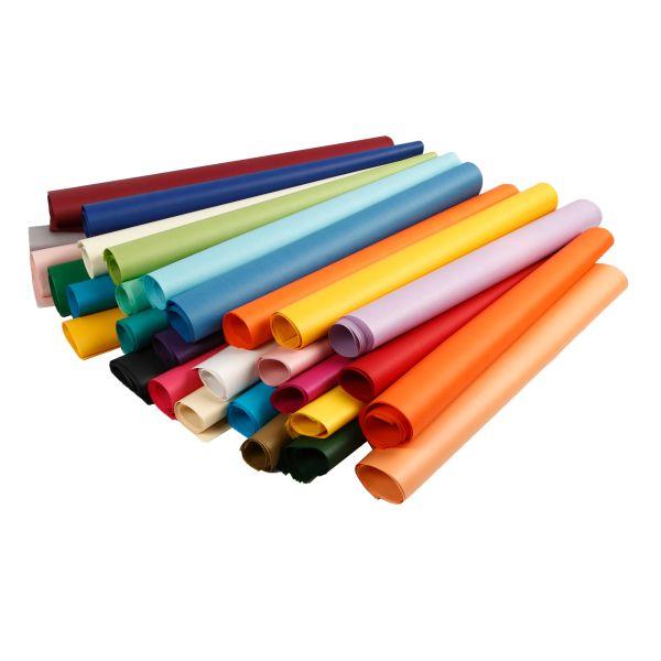 Seidenpapier 50 x 70 cm MEGA Pack, 300 Blatt sortiert