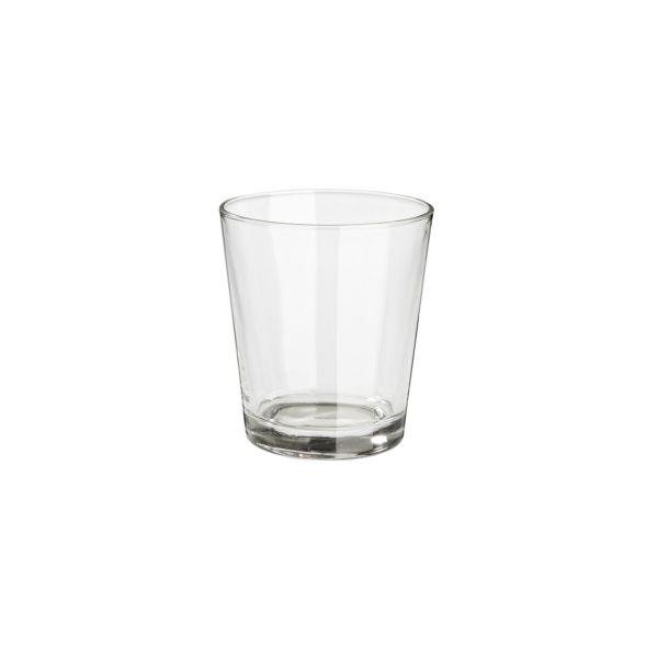 Glas, Ø 9 / 6,5 cm x H 10 cm