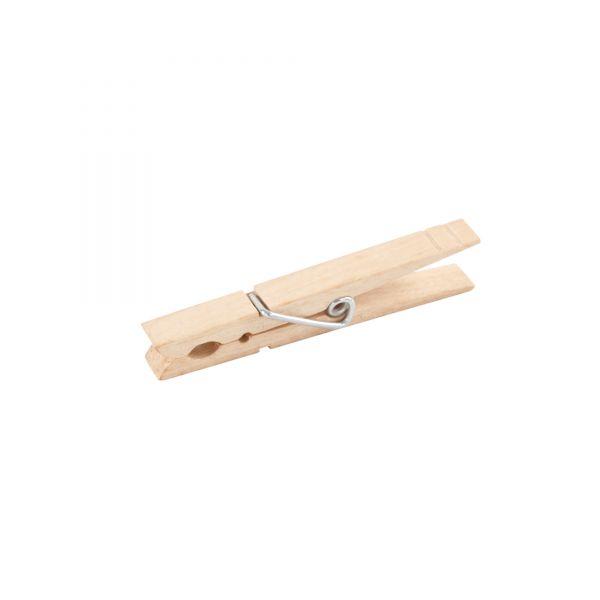 Wäscheklammer aus Holz L7,3 x B1 cm, 120 Stück