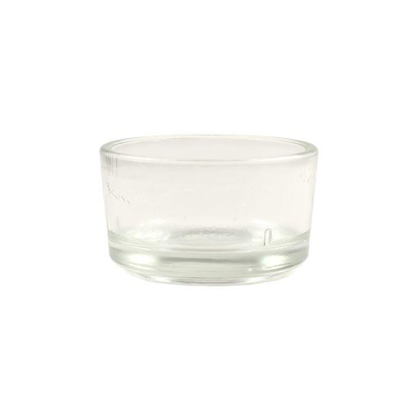 Teelichtglas Einsatz Ø 4,5 x H 2,5