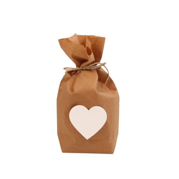 BODA Geschenktüten-Set Herz 14-tlg.