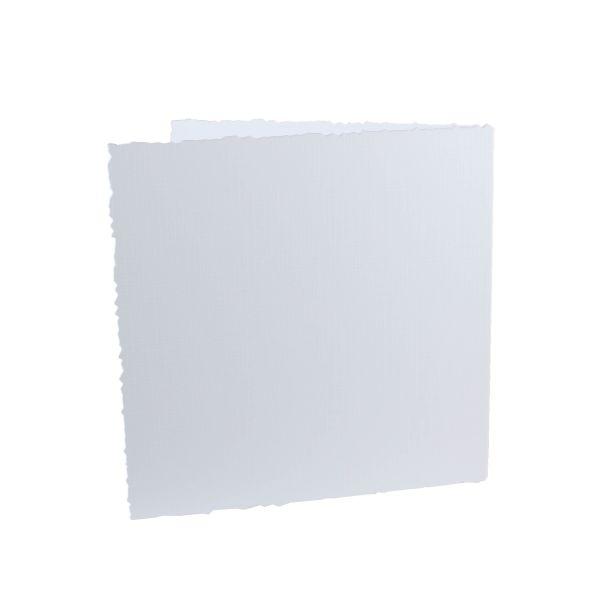 "Doppelkarten 13,5 x 13,5 cm ""geriffelter Rand"" 5er Pack"